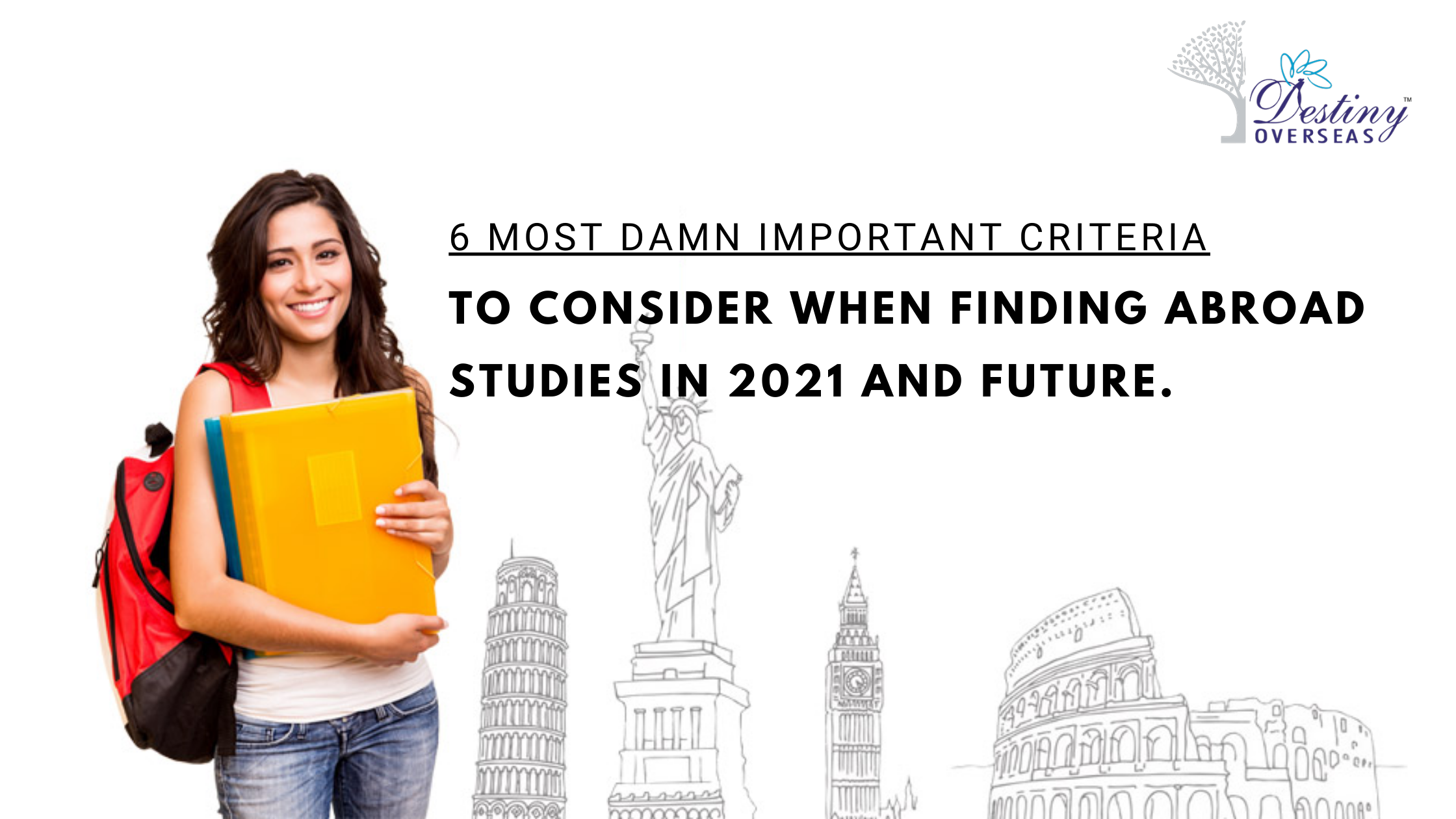 important criteria to consider when studying abroad