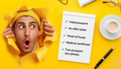 What documents are required for student visa?